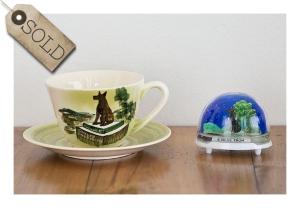 Studio Anna, cup & saucer, 1950s