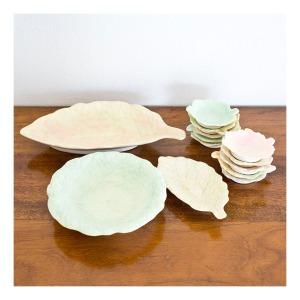 Gambit Ware 'Ceramique' Australiana leaf plates