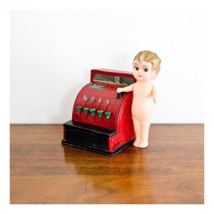 Aster Cash Register tin plate toy