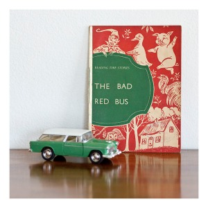 The Big Red Bus, Childrens Reader 1955
