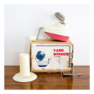 Yarn Winder, made in Australia 1960s