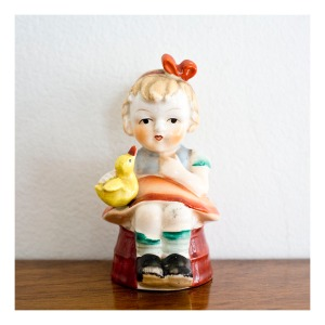 Porcelain figurine, Japan, 1940s